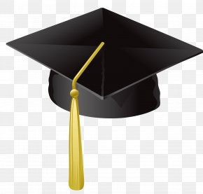 Grad Hat - Square Academic Cap Student Graduation Ceremony College Clip Art PNG