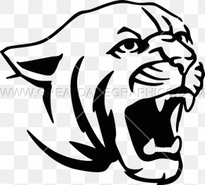 Tiger - Tiger Lion Cougar Drawing Clip Art PNG