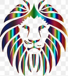 Lion Background Cliparts - Lion Roar Animation Clip Art PNG