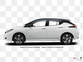 Nissan - 2017 Nissan LEAF Car Electric Vehicle Tesla Model 3 PNG