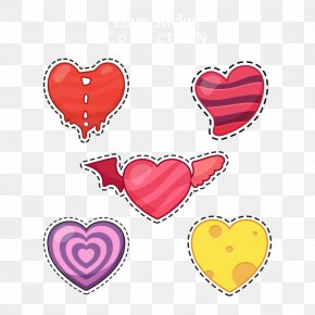 Heart-shaped Element Vector - Euclidean Vector Download Icon PNG