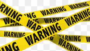 Police Tape - Adhesive Tape Barricade Tape Clip Art PNG