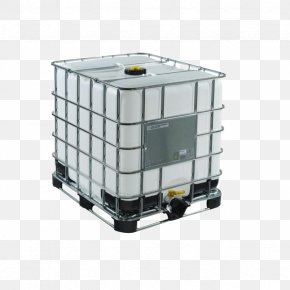 Container - Intermediate Bulk Container Water Tank Pallet Plastic Storage Tank PNG