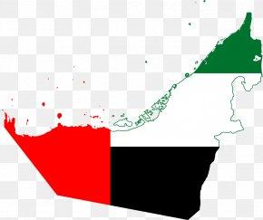 Uae - Abu Dhabi Map Flag Of The United Arab Emirates PNG
