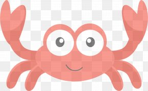Animation Octopus - Crab Cartoon Pink Animated Cartoon Giant Pacific Octopus PNG
