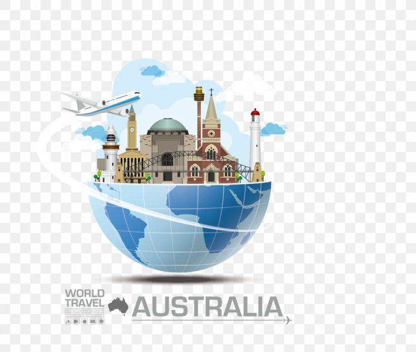 Australia Illustration, PNG, 1106x938px, Australia, Fotolia, Illustration, Infographic, Landmark Download Free