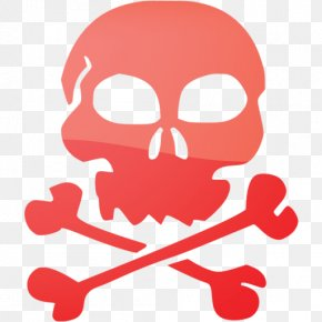 Skull - Vector Graphics Skull And Crossbones Clip Art PNG