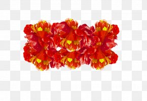 Red Flower - Cut Flowers Red PNG