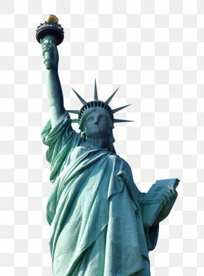Statue Of Liberty - Statue Of Liberty Top Of The Rock Ellis Island PNG