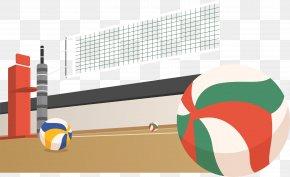 Volleyball Field - Beach Volleyball Sport PNG