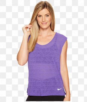 T-shirt - T-shirt Sleeveless Shirt Top Nike PNG