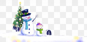 Creative Winter Snow - Christmas Tree Winter Snow PNG