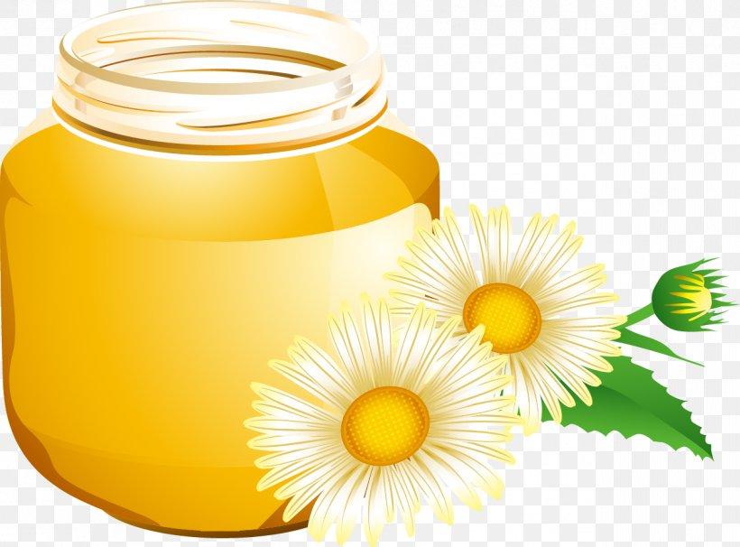 Honey Bee Honey Bee Euclidean Vector, PNG, 1262x934px, Bee, Flower, Honey, Honey Bee, Honeycomb Download Free