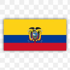 Waterproof Flower - Flag Of Ecuador National Flag Coat Of Arms Of Ecuador PNG