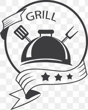 Retro Food Labels Vector Image - Logo Restaurant Food PNG