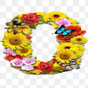 Flowers Circle - Floral Design Flower PNG