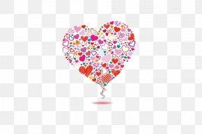 Love Heart - Cartoon Heart PNG
