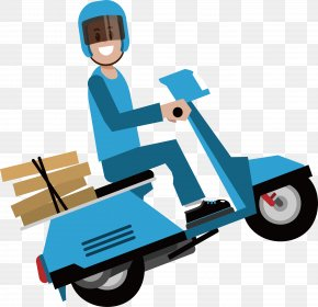 Express By Bike - Delivery Courier PNG