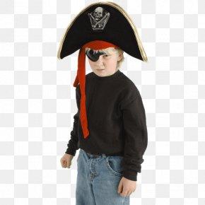 Hat - Hat Piracy Skull And Crossbones Headgear Costume PNG