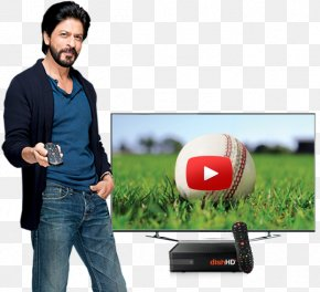 Shahrukh Khan Hd Photo - High-definition Television Entertainment Dish TV PNG