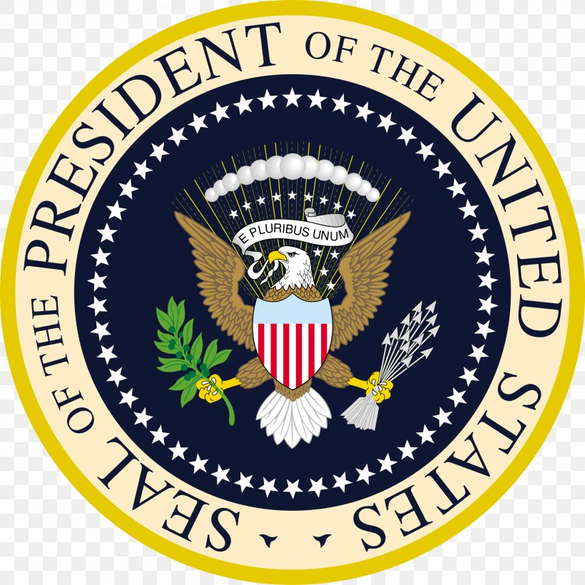 Seal Of The President Of The United States US Presidential Election 2016 Great Seal Of The United States, PNG, 2000x2001px, United States, Area, Badge, Brand, Crest Download Free