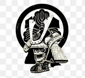 Samurai Vector - Japan Bushi Cartoon PNG