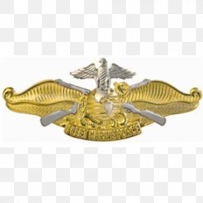 Military - Fleet Marine Force Insignia United States Navy Military Badges Of The United States PNG