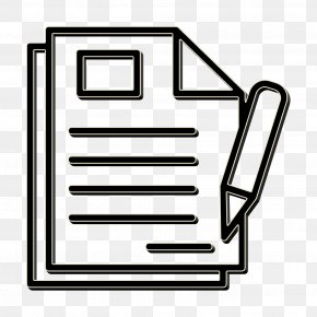 Coloring Book Document Icon - Contract Icon Business And Finance Icon Document Icon PNG