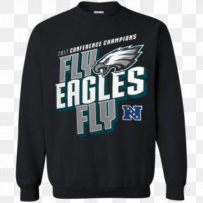 Philadelphia Eagles - Philadelphia Eagles Super Bowl LII The NFC Championship Game NFL Hoodie PNG