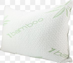 Pillow - Pillow Memory Foam Cushion Material Bamboo PNG