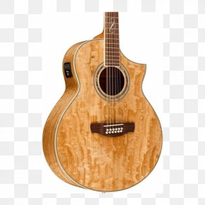 Acoustic Guitar - Acoustic-electric Guitar Acoustic Guitar Ukulele Ibanez Exotic Wood Series AEW40 PNG