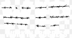 Barbed Wire - Barbed Wire Clip Art Fence Barbed Tape PNG