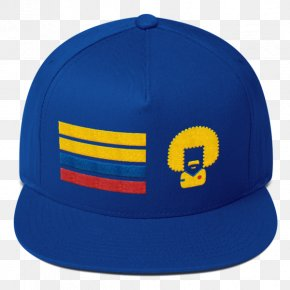 World Cup Mockup - Colombia National Football Team Baseball Cap Blue 2018 World Cup PNG