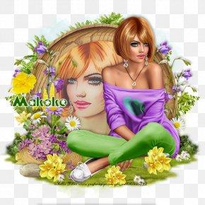 Spring Illustration - Flower Floral Design Lilac Violet Purple PNG