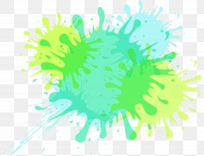 Watercolor Ink Droplets - Kidsville Inc. Icon PNG