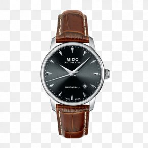 Mido Baroncelli Watches - Le Locle Mido Automatic Watch Analog Watch PNG