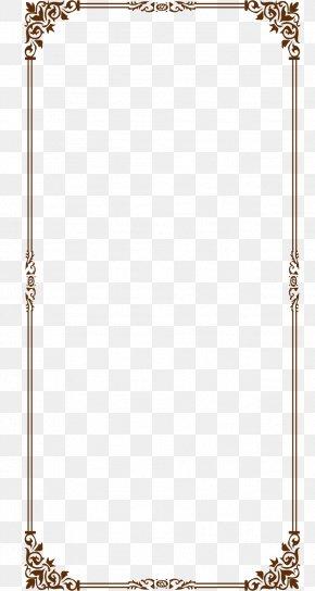 Border Design Material - Website Wireframe PNG