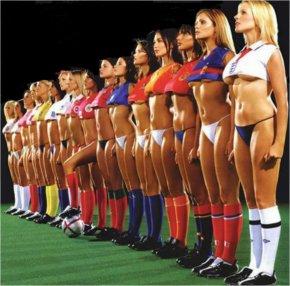 Cheerleader - 2014 FIFA World Cup FC Barcelona NFL Football Desktop Wallpaper PNG