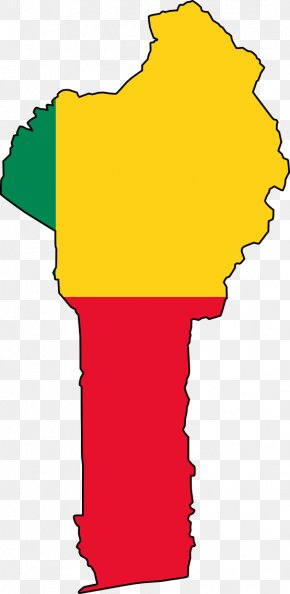 World Map Clipart - Benin Empire Flag Of Benin Map PNG