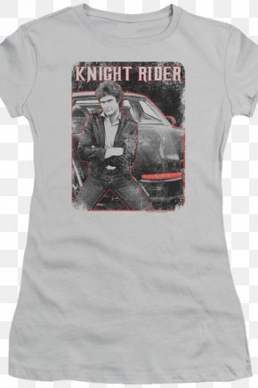 Knight Rider - T-shirt K.I.T.T. Michael Knight Sleeve Knight Rider: The Game PNG