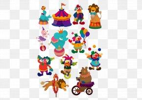 Circus Collection - Circus Cartoon Clown Illustration PNG
