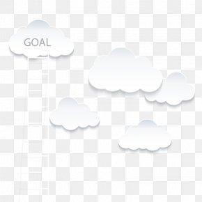 Vector Cloud Ladder - Cloud White Euclidean Vector PNG