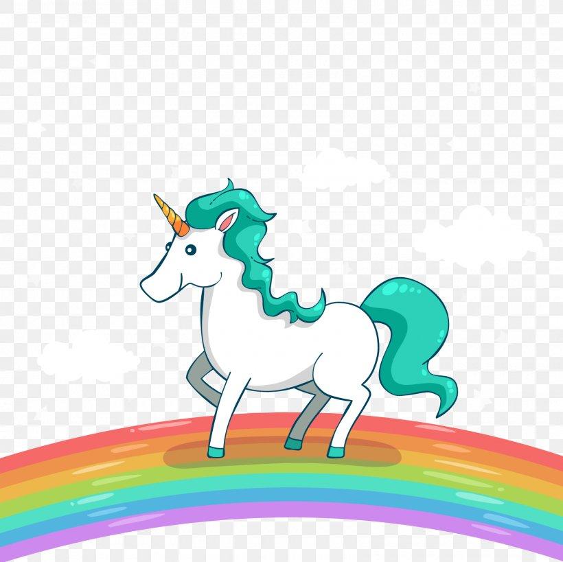 Unicorn Euclidean Vector Adobe Illustrator, PNG, 1600x1600px, Unicorn, Animal, Cartoon, Coreldraw, Fictional Character Download Free