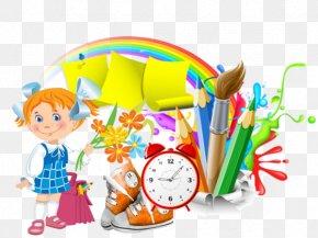 Jeune Pot - First Day Of School School District Primary Education Art School PNG