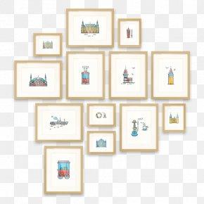 Design - Picture Frames Pattern PNG