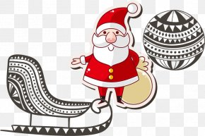 Santa Claus Christmas Promotions - Santa Claus Christmas Drawing PNG