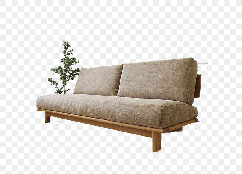 Couch Sofa Bed Living Room Furniture Futon, PNG, 590x590px ...