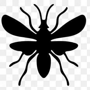 Insect Silhouettes - Ant Insect Euclidean Vector Icon PNG
