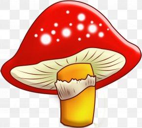 Edible Mushroom Clip Art Drawing Illustration PNG