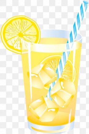 Lemonade - Fizzy Drinks Lemonade Cocktail Clip Art PNG